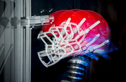 Researchers Measure Impact of Football Concussions